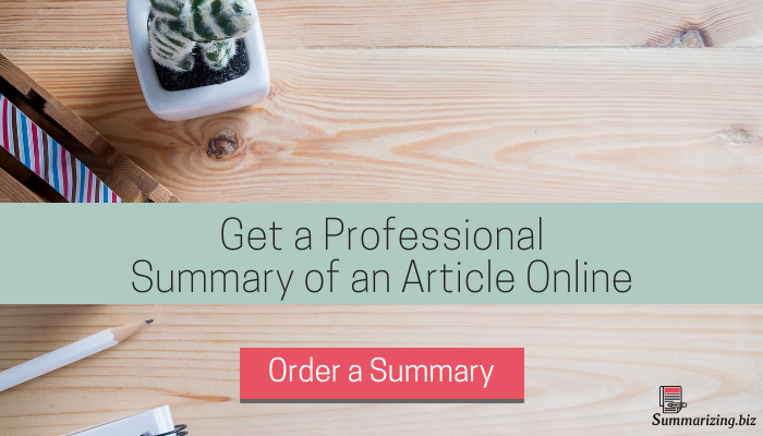 websites that summarize articles online