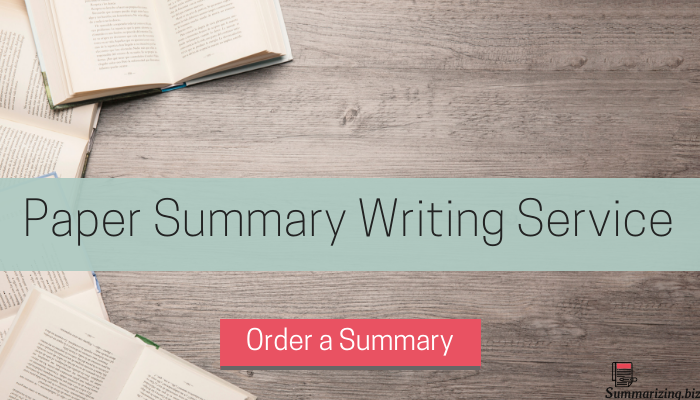 proper and correct structure of summary