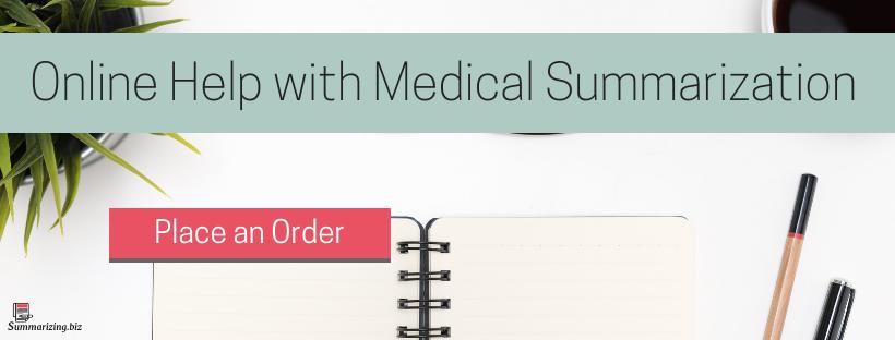 medical record summary help