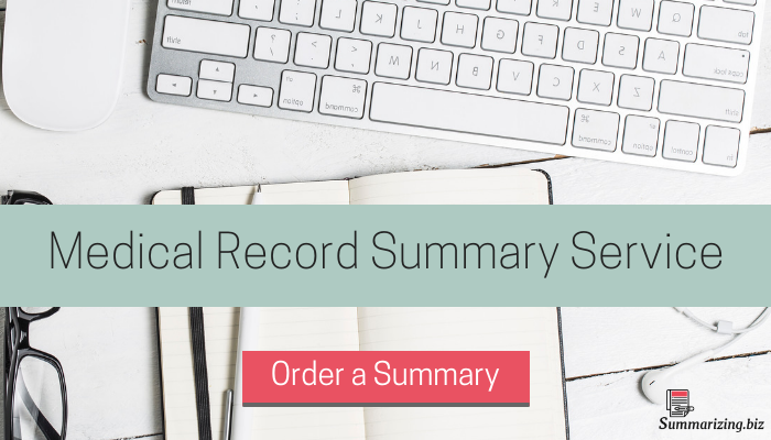 medical record summary service