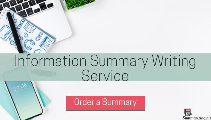 summarizing information help