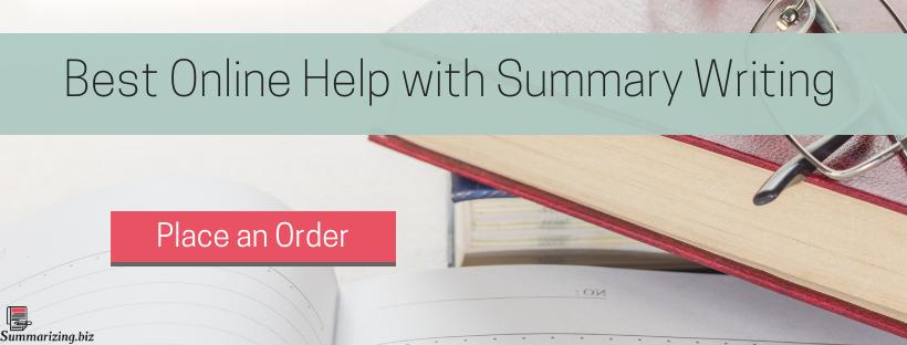 how to teach summary writing