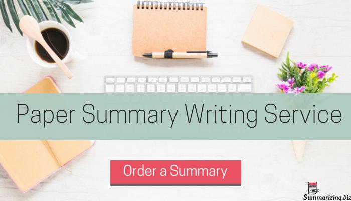 teaching summary writing online