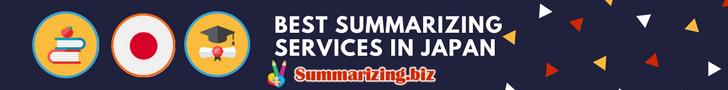 best summarizing services in japan