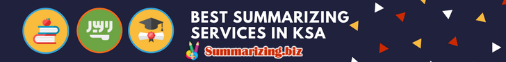 best summarizing services in saudi arabia