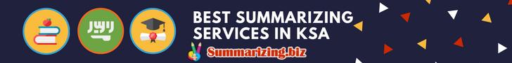 best summarizing services in saudi arabia