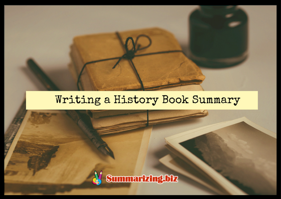 writing a history book summary