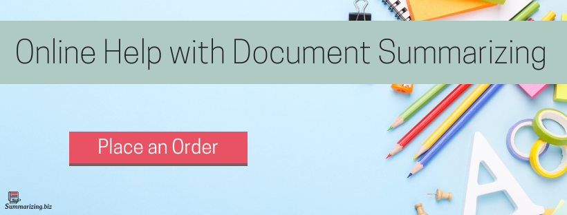document summarizer online