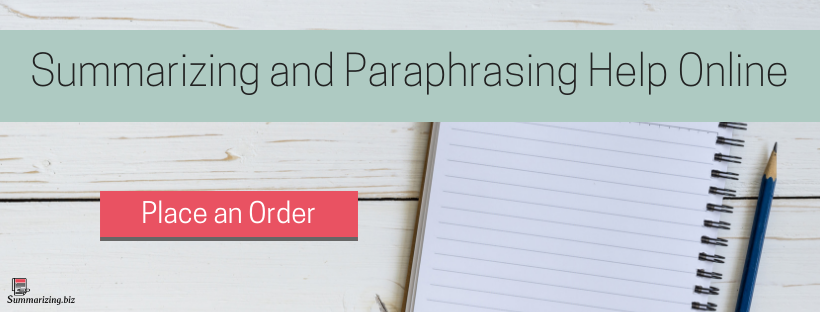 paraphrasing and summarizing services