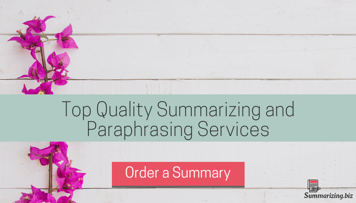 summarizing and paraphrasing services