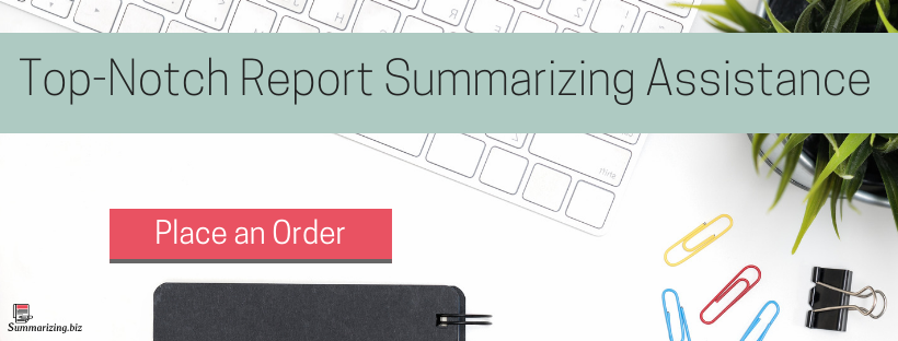 summary report writing service
