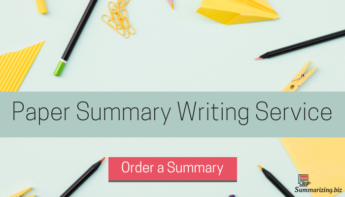 tips for writing a conference summary