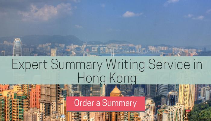 mla summarizing services hong kong