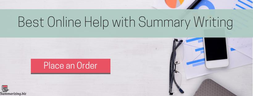 online summarizer help